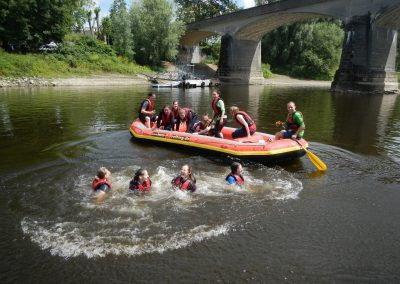 Klassenfahrt Rhein