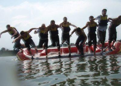 Rafting in Bonn