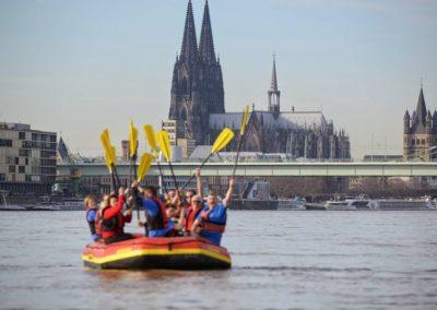 Wildwasser Rafting Köln