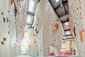 Kletterhalle in Troisdorf Spich